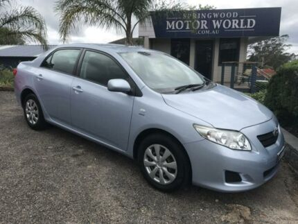 2007 Toyota Corolla Ascent Blue 6 SPEED MANUAL Sedan