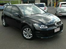 2013 Volkswagen Golf AU MY14 90 TSI Comfortline Black 7 Speed Automatic Hatchback Wacol Brisbane South West Preview