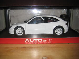 1/18 Diecast Autoart Citroen Xsara WRC 2004 plain Body Version