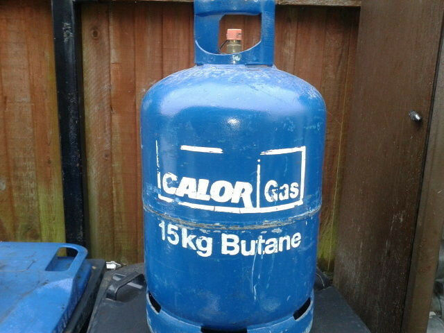full bottle of calor gas