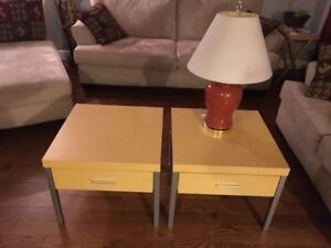 Ikea Tables & Lamp