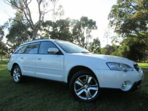 2004 Subaru Outback B4A MY04 R AWD Premium Pack White 5 Speed Sports Automatic Wagon Dandenong Greater Dandenong Preview