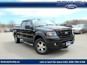2008 Ford F-150 FX4 4x4 SuperCrew Leather Htd Seats