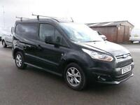 Ford Transit Connect 1.6 TDCI 115PS LIMITED VAN DIESEL MANUAL BLACK (2015)