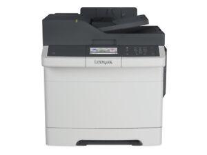 USED Colour LaserJet  LEXMARK CX410DE    Print/fax/copy/scan