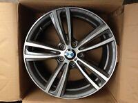 Genuine BMW 442m alloy wheels