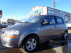2007 Pontiac Wave LT -SUNROOF-GREAT ON GAS--1.6L 4 CYL-5 SPEED