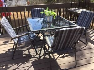 Five Piece Patio Set