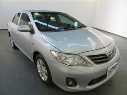 2013 Toyota Corolla ZRE152R MY11 Ascent Sport Silver Pearl 4 Speed Automatic Sedan Albion Brimbank Area Preview