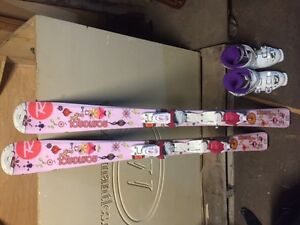 Jr Girls Skis and Boots package