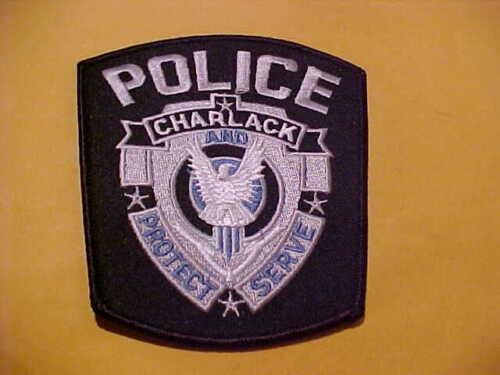 CHARLACK MISSOURI POLICE PATCH SHOULDER SIZE UNUSED