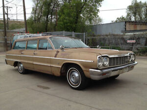 Looking for a larger 60's/ 70's wagon, Ford, Chev