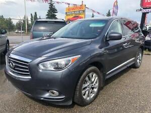 2013 INFINITY JX35 FULLY LOADED LEATHER HEATED SEATS