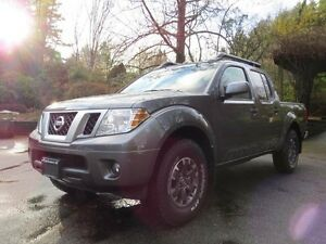 2016 Nissan Frontier PRO-4X 4x4 Crew Cab 4.75 ft. box 126 in. WB