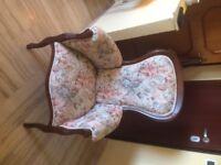 Beautiful Victorian style chairs