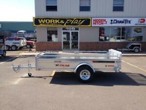 "NEW 2018 K-TRAIL 66"" x 10.25' GALVANIZED UTILITY TRAILERS"