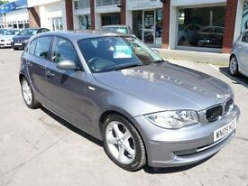 BMW 1 SERIES 2.0 118D SPORT 5d 141 BHP (grey) 2009