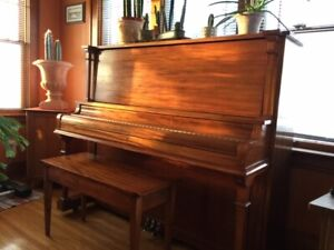 Piano with Bench - Free to a Good Home