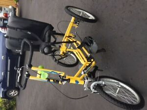 Mobility teen to adult bicycle (Wide glide) Adventure AS 2000