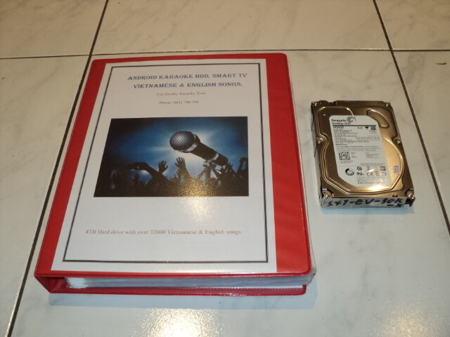 KARAOKE 5TB HDD 56000 VIETNAMESE & ENGLISH SONGS KHP-8856, 8866, 8832.NEW 2017.
