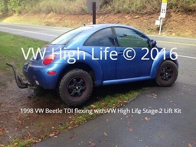 VW High Life Stage 2 Suspension Lift Kit w/ Coil Spacer VW MK4 Beetle 1998-2010