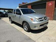 2006 Toyota Hilux GGN15R SR Silver 5 Speed Automatic Holden Hill Tea Tree Gully Area Preview