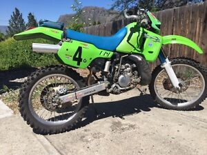 93 Kawasaki KDX 200 - Great Bush Bike