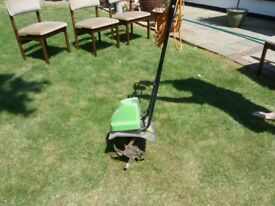 ELECTRIC GARDEN ROTOVATOR/CULTIVATOR, GOOD CONDITION, RARELY USED