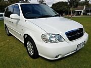 2005 Kia Carnival MY04 LS White 4 Speed Automatic Wagon Somerton Park Holdfast Bay Preview