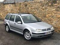 2002 VW GOLF 1.6 SPORT ESTATE MANUAL PETROL