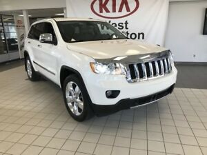 2012 Jeep Grand Cherokee Overland AWD V6 *LOADED/NAVIGATION/SUNR