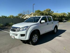 2016 Isuzu D-MAX MY15.5 SX White 5 Speed Automatic Dual Cab Chermside Brisbane North East Preview