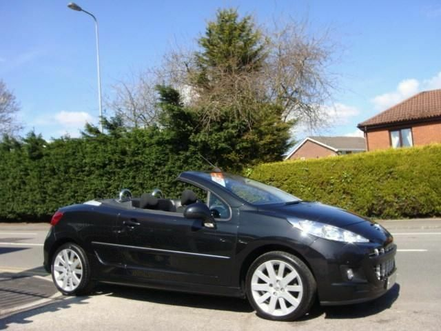 peugeot 207 cc gt hdi 2012 diesel manual in black united kingdom gumtree. Black Bedroom Furniture Sets. Home Design Ideas