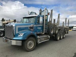 2014 Freightliner SD tridrive logger