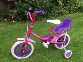 "Raleigh Bounce 12""; Girls Bike, Pink & Purple"
