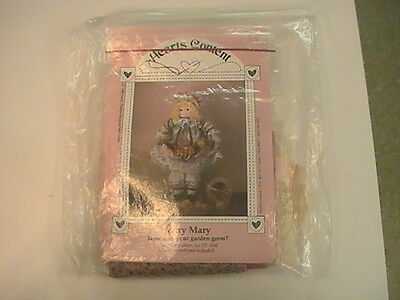 """Mary Mary How Does Your Garden Grow - 23"""" Doll Pattern Hearts Content + materia"""