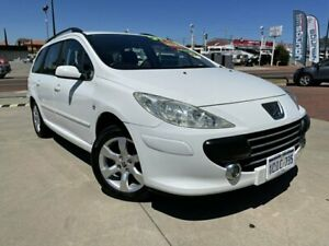 2006 Peugeot 307 T6 XSE Touring White 4 Speed Sports Automatic Wagon Victoria Park Victoria Park Area Preview