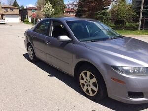 2008 Mazda 6 GS, 4 Cylinder Sedan 190 Km clean