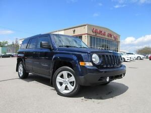 2013 Jeep Patriot 4X4, A/C, HTD. SEATS, 29K!