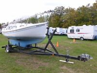 20ft Halman boat with trailer (built in 2000).