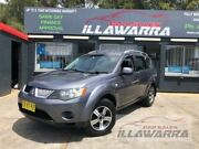 2007 Mitsubishi Outlander ZG MY08 LS 6 Speed CVT Auto Sequential Wagon Barrack Heights Shellharbour Area Preview