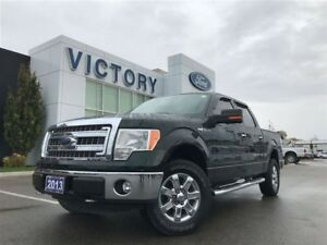 2013 Ford F-150 XLT, 4x4, 5.0L V8, 302A, Backup Camera, only 552