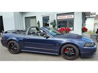 Ford Mustang GT 2003 Décapotable, Superchage, Extra Propre !