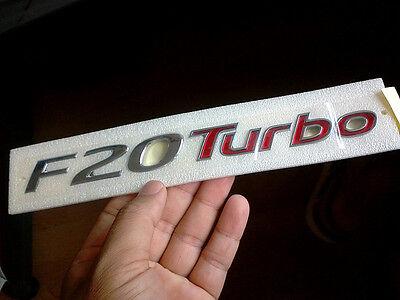 """Genuine 2012 2013 Hyundai Sonata """"F20 turbo"""" Trunk Emblem"""