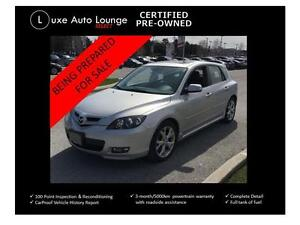 2008 Mazda Mazda3 GT - AUTO, LEATHER, SUNROOF, HEATED SEATS!