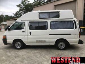 1999 Toyota Hiace White Manual Van Lisarow Gosford Area Preview