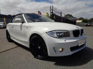 2011 BMW 120i E88 MY11 White 6 Speed Automatic Convertible Pooraka Salisbury Area Preview