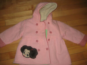 2 - Baby Toddler  2T Girls Fall/winter Jackets - Brand NEW