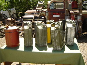 Used Army Gas Cans $20.00 each