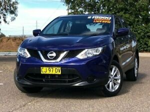 2015 Nissan Qashqai J11 ST Blue 1 Speed Constant Variable Wagon Hillvue Tamworth City Preview